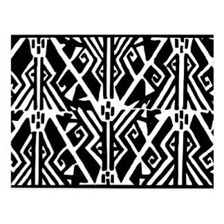 ギリシャパターン ポストカード