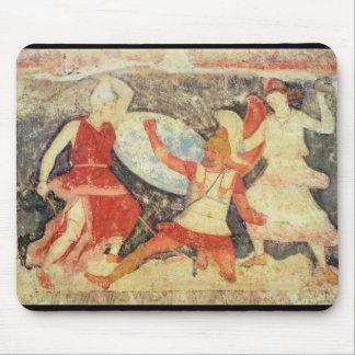 ギリシャ人との戦闘の2つのアマゾン マウスパッド