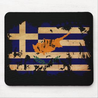 ギリシャ人のキプロスの旗 マウスパッド