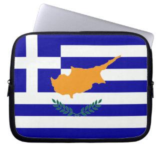 ギリシャ人のキプロスの旗 ラップトップスリーブ