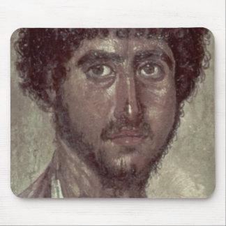ギリシャ人のポートレート、ロマノエジプトFayumから マウスパッド