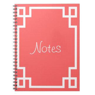 ギリシャ人の鍵(あらゆる色への変更!) ノートブック