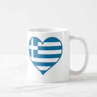 ギリシャ愛 コーヒーマグカップ