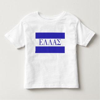 ギリシャ文字のELLAS トドラーTシャツ