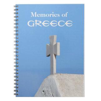 ギリシャ旅行ジャーナルノート ノートブック