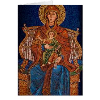 ギリシャ正教の挨拶状 カード