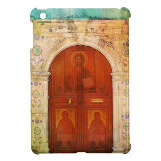 ギリシャ正教イエス・キリストアイコンドア iPad MINI CASE