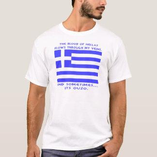 ギリシャ語Ouzo Tシャツ