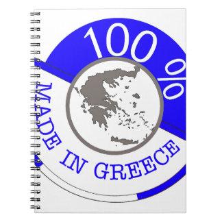 ギリシャ100%年で作られる ノートブック
