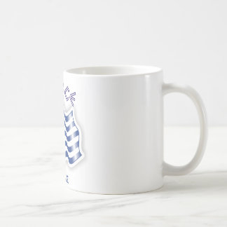 ギリシャ-ギリシャの振る旗 コーヒーマグカップ