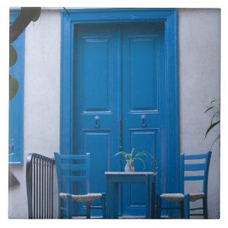 ギリシャ、クレタのHaniaの地域、Hania: ベニス風の4 タイル
