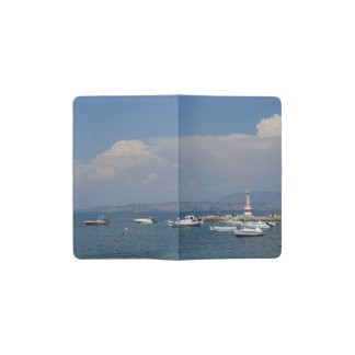 ギリシャ、コルフ島の古い灯台、小型ノート ポケットMoleskineノートブック