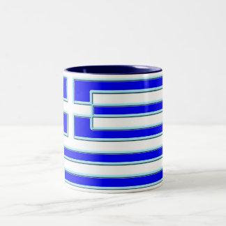 ギリシャ ツートーンマグカップ