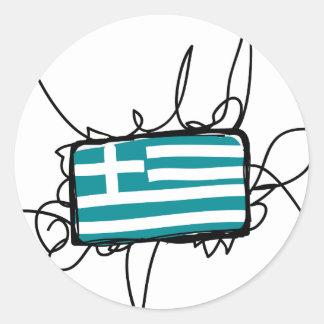 ギリシャ ラウンドシール