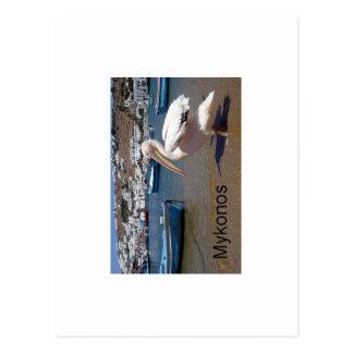 ギリシャMykonosペトロス(St.K) ポストカード