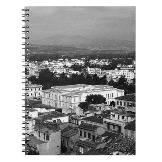 ギリシャNafplion都市1970年 ノートブック