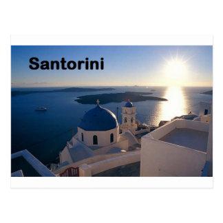 ギリシャSantoriniの日没(St.K) ポストカード