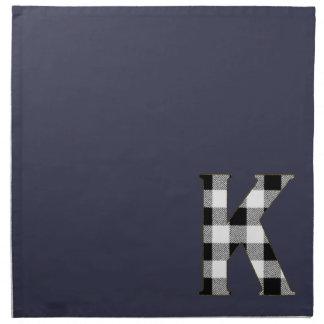 ギンガムの点検K ナプキンクロス