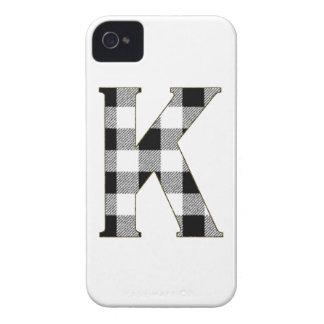 ギンガムの点検K iPhone 4 Case-Mate ケース