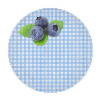 ギンガムの青い果実 カッティングボード
