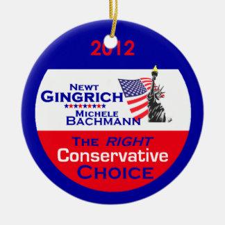ギングリッチBachmannのオーナメント セラミックオーナメント