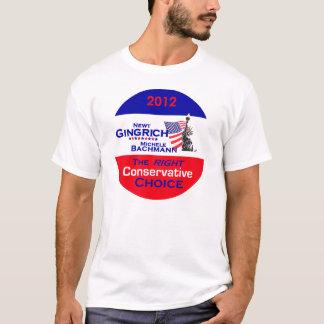 ギングリッチBachmannのTシャツ Tシャツ