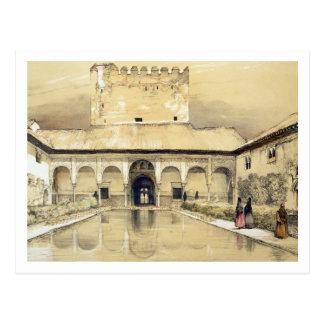 ギンバイカ(Patio de los Arrayanes)の裁判所 ポストカード