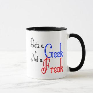 ギークにない変種と日付を記入して下さい マグカップ