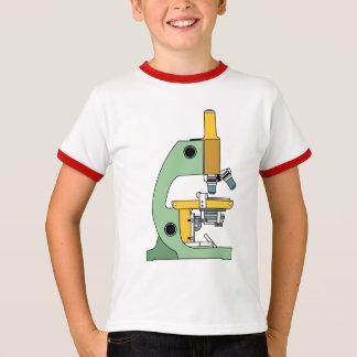 ギークのためのクラシックな色の顕微鏡 Tシャツ