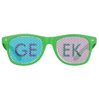 ギークのサングラス レトロサングラス