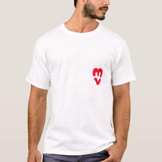 ギークのハート Tシャツ