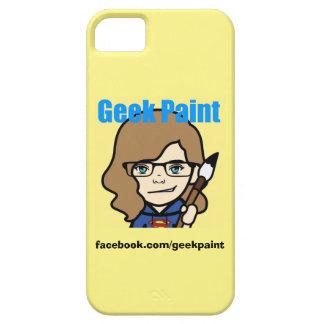 ギークのペンキの電話箱 iPhone SE/5/5s ケース