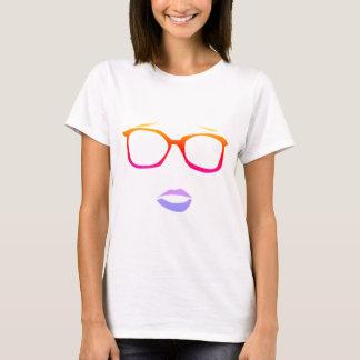 ギークの女の子のTシャツ Tシャツ