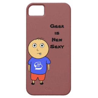 ギークの男の子 iPhone SE/5/5s ケース
