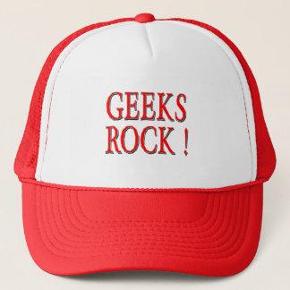 ギークの石!  赤い キャップ