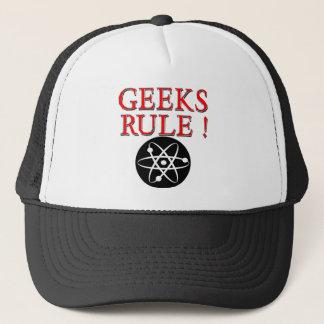 ギークの規則!  原子を使って キャップ