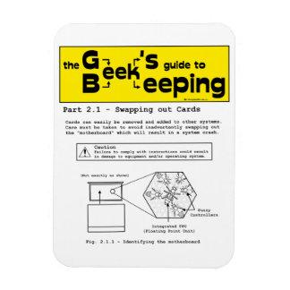 ギークの養蜂(カードを交換する) -磁石 マグネット