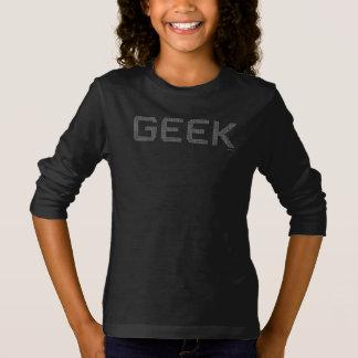 ギークの2進符号プログラマーカッコいいのコンピュータマニア Tシャツ