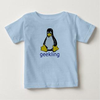 ギークのGeeklingの小さいワイシャツ ベビーTシャツ