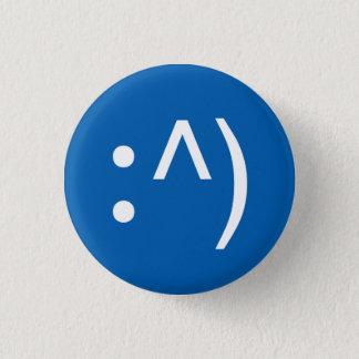 ギークコード顔ボタン 3.2CM 丸型バッジ