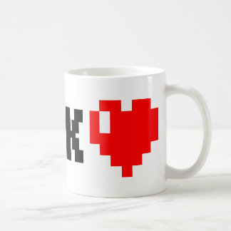ギーク<3 コーヒーマグカップ