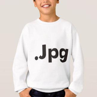 ギークJPGプロダクト及びデザイン! スウェットシャツ