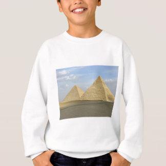 ギーザのピラミッドの写真 スウェットシャツ