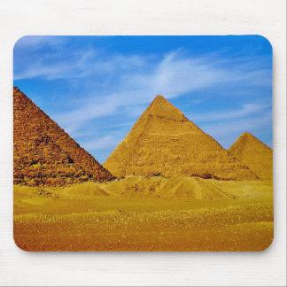 ギーザのピラミッド マウスパッド