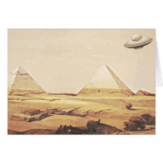 ギーザの宇宙船 カード