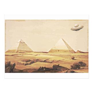 ギーザの宇宙船 ポストカード