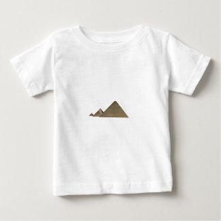 ギーザの素晴らしいピラミッド: ベビーTシャツ