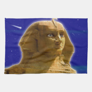 ギーザの芸術のデザインの古代エジプトのスフィンクス キッチンタオル