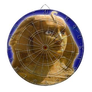 ギーザの芸術のデザインの古代エジプトのスフィンクス ダーツボード