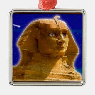 ギーザの芸術のデザインの古代エジプトのスフィンクス メタルオーナメント